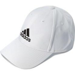 Czapka z daszkiem adidas - 6PCap Ltwgt Emb BK0794 White/White/Black. Białe czapki i kapelusze damskie Adidas, z materiału. Za 59.95 zł.