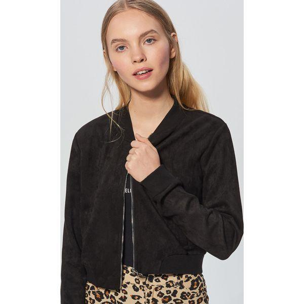 d01226630 Krótka bluza - Czarny - Bluzy damskie marki Cropp. W wyprzedaży za ...
