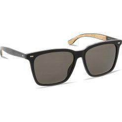 Okulary przeciwsłoneczne BOSS - 0883/S Matt Black 0R5. Czarne okulary przeciwsłoneczne męskie Boss, z tworzywa sztucznego. W wyprzedaży za 669.00 zł.