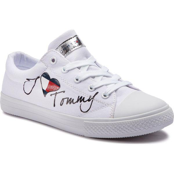 aa155c8f03c58 Trampki i tenisówki dziewczęce marki Tommy Hilfiger - Kolekcja wiosna 2019  - Chillizet.pl