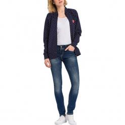 """Dżinsy """"Melinda"""" - Skinny fit - w kolorze niebieskim. Niebieskie jeansy damskie Cross Jeans. W wyprzedaży za 136.95 zł."""