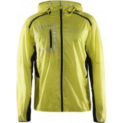 Craft Kurtka Focus 2.0 Hood Yellow Xxl. Żółte kurtki sportowe męskie Craft, z materiału. W wyprzedaży za 319.00 zł.