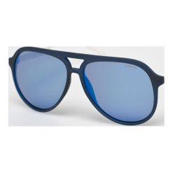 Polaroid - Okulary PLD2048S. Brązowe okulary przeciwsłoneczne męskie Polaroid, z materiału. Za 339.90 zł.