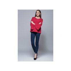 Bluzka z szerokimi rękawami-czerwona. H030. Czerwone bluzki damskie Harmony, eleganckie. Za 135.00 zł.