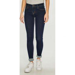 Levi's - Jeansy Innovation. Brązowe jeansy damskie Levi's. Za 369.90 zł.