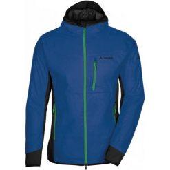 Vaude Kurtka Męska Sesvenna Hydro Blue/Green L. Niebieskie kurtki sportowe męskie Vaude, na zimę, z lycry. W wyprzedaży za 499.00 zł.