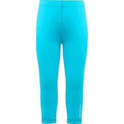 Legginsy w kolorze błękitnym. Legginsy dla dziewczynek marki OROKS. W wyprzedaży za 42.95 zł.