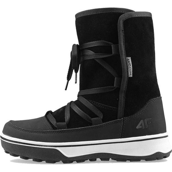 Buty zimowe 4F W D4Z19 OBDH201 21S czarne