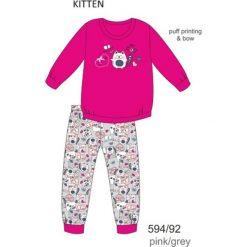 Piżama dziewczęca DR 594/92 Kitten Różowa r. 128. Czerwone bielizna dla chłopców Cornette. Za 49.87 zł.