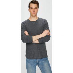 Selected - Sweter. Szare swetry przez głowę męskie Selected, z bawełny, z okrągłym kołnierzem. W wyprzedaży za 69.90 zł.