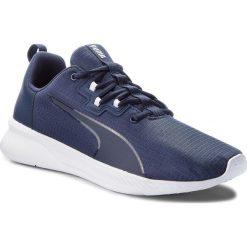 Buty PUMA - Tishatsu Runner 191070 02 Peacoat/Puma White. Niebieskie buty sportowe męskie Puma, z materiału. W wyprzedaży za 189.00 zł.