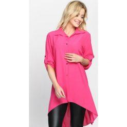 Fuksjowa Koszula Leave Your Lover. Różowe koszule damskie Born2be, na lato. Za 59.99 zł.
