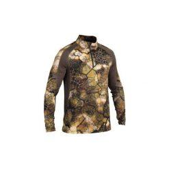 Koszulka Actikam 500 light. Brązowe bluzki z długim rękawem męskie SOLOGNAC. Za 99.99 zł.