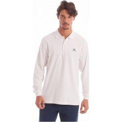 Polo Club C.H..A Koszulka Polo Męska M Biała. Białe koszulki polo męskie Polo Club C.H..A. W wyprzedaży za 149.00 zł.