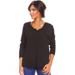 """Sweter """"Coco"""" w kolorze czarnym. Czarne swetry damskie So Cachemire, z kaszmiru. W wyprzedaży za 165.95 zł."""