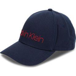 Czapka z daszkiem CALVIN KLEIN - Logo Embroidery Cap K50K504106 448. Niebieskie czapki i kapelusze męskie Calvin Klein. Za 159.00 zł.