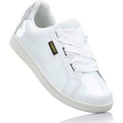 Sneakersy Smiley bonprix biały. Buty sportowe chłopięce marki bonprix. Za 74.99 zł.