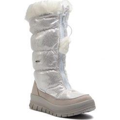 Śniegowce MANITU - 991224 Weiss 3. Białe kozaki damskie Manitu, z materiału. Za 399.00 zł.