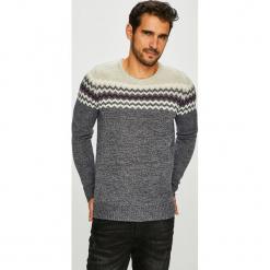 Blend - Sweter. Czarne swetry przez głowę męskie Blend, z dzianiny, z okrągłym kołnierzem. Za 169.90 zł.