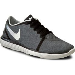 Buty NIKE - Lunar Sculpt 818062 006 Black/Summit White/Dark Grey. Szare obuwie sportowe damskie Nike, z materiału. W wyprzedaży za 299.00 zł.