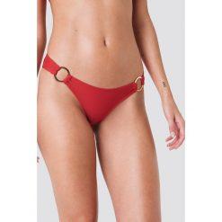 J&K Swim X NA-KD Dół bikini z okrągłym detalem - Red - 2