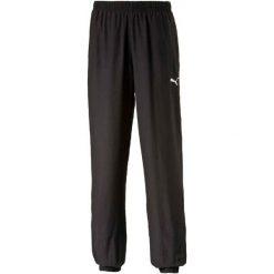 Puma Spodnie Dresowe Ess Woven Pants Cl Black M. Czarne spodnie dresowe damskie Puma, z dresówki. W wyprzedaży za 109.00 zł.