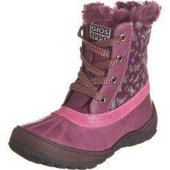 Botki w kolorze fioletowym. Botki dziewczęce Zimowe obuwie dla dzieci. W wyprzedaży za 165.95 zł.