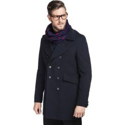 Płaszcz CARMINE PSGS000035. Czerwone płaszcze męskie Giacomo Conti, na jesień, z tkaniny. Za 1,299.00 zł.