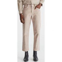 10db7406b34133 Brązowe spodnie materiałowe męskie Reserved - Kolekcja lato 2019 ...