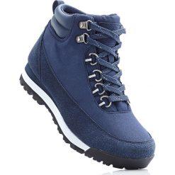 Buty trekkingowe bonprix ciemnoniebieski. Niebieskie buty sportowe męskie bonprix. Za 149.99 zł.