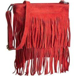 Torebka CREOLE - RBI10156 Czerwony. Czerwone listonoszki damskie Creole, ze skóry. Za 139.00 zł.