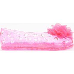 Transparentne baleriny z brokatem - Różowy. Baleriny dziewczęce Reserved. Za 24.99 zł.