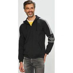 Adidas Originals - Bluza. Czarne bluzy męskie adidas Originals, z nadrukiem, z materiału. Za 379.90 zł.