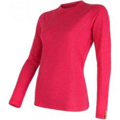 Sensor Koszulka Termoaktywna Z Długim Rękawem Merino Wool Active W Magenta S. Czerwone koszulki sportowe damskie Sensor, z materiału, z długim rękawem. Za 215.00 zł.