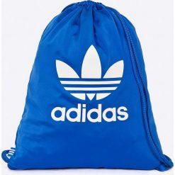 Adidas Originals - Plecak. Niebieskie plecaki damskie adidas Originals, z materiału. W wyprzedaży za 49.90 zł.