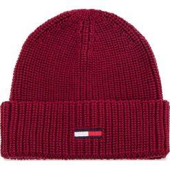 Czapka TOMMY JEANS - Tju Basic Rib Beanie AU0AU00300 652. Czerwone czapki i kapelusze damskie Tommy Jeans. Za 129.00 zł.