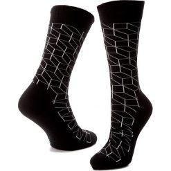 Skarpety Wysokie Męskie HAPPY SOCKS - OP01-909 Czarny. Czarne skarpety damskie Happy Socks, z bawełny. Za 34.90 zł.