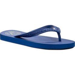 Japonki VERSACE JEANS - E0VPBSL1 77201 202. Niebieskie klapki damskie Versace Jeans, z jeansu. W wyprzedaży za 119.00 zł.