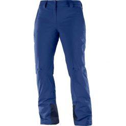 Salomon Spodnie narciarskie damskie Icemania Pant W Medieval Blue r. M (100560). Spodnie materiałowe damskie Salomon. Za 576.45 zł.
