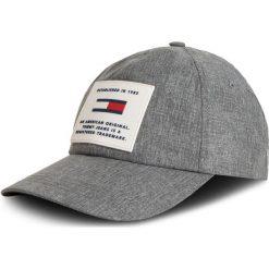 Czapka z daszkiem TOMMY JEANS - Tju Original Cap AU0AU00460 901. Szare czapki i kapelusze męskie Tommy Jeans. Za 229.00 zł.