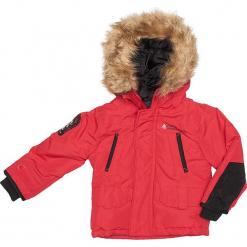 Kurtka zimowa w kolorze czerwonym. Czerwone kurtki i płaszcze dla chłopców Peak Mountain, na zimę. W wyprzedaży za 215.95 zł.