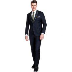 Garnitur LEONARDO GAGE000043. Czarne garnitury męskie Giacomo Conti, z lycry. Za 899.00 zł.