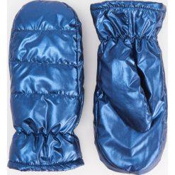 Puszyste rękawiczki z jednym palcem - Granatowy. Rękawiczki damskie marki B'TWIN. W wyprzedaży za 39.99 zł.