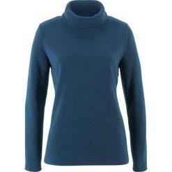 Bluza z polaru z golfem bonprix ciemnoniebieski. Bluzy damskie marki KALENJI. Za 37.99 zł.