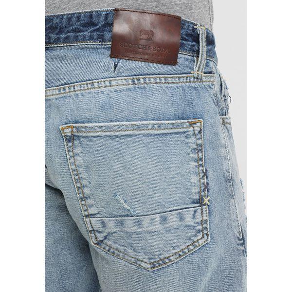 sklep kupuj bestsellery nowy styl życia Scotch & Soda CUSTOMIZED RALSTON Szorty jeansowe hero eight