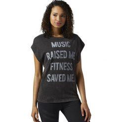 Reebok Koszulka damska Stone Wash Tee czarna r. M (BR4332). T-shirty damskie Reebok. Za 137.42 zł.