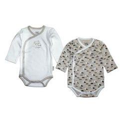 Gelati Dziecięce Body Zestaw 2 Szt. 62/68 Biały/Szary. Białe body niemowlęce Gelati, z długim rękawem. Za 65.00 zł.