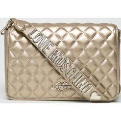 Love Moschino - Torebka. Szare torby na ramię damskie Love Moschino. W wyprzedaży za 629.90 zł.