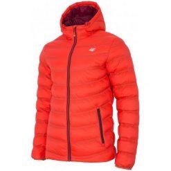 4F Męska Kurtka H4Z17 kum003 Pomarańcz L. Brązowe kurtki sportowe męskie 4f, na zimę, z puchu. W wyprzedaży za 209.00 zł.