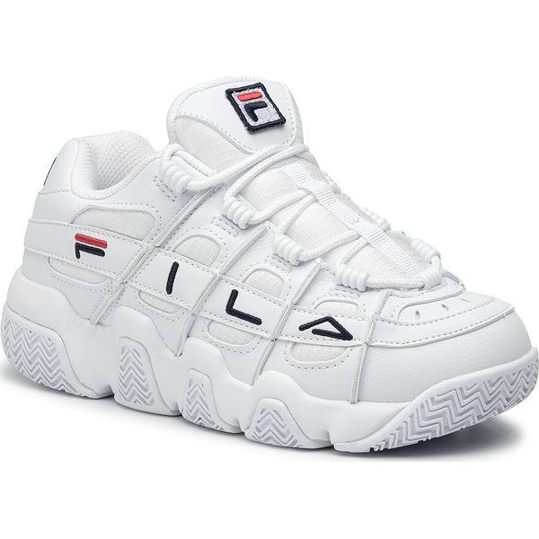 Sneakersy FILA Uproot Wmn 5BM00539.125 WhiteFila NavyFila Red